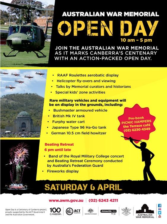AWM Open Day 600