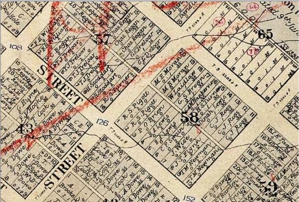 Tamworth 1920 Map 11856401 Sec 58
