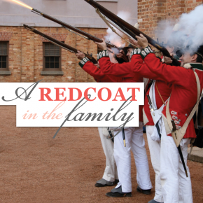 A redcoat in the family