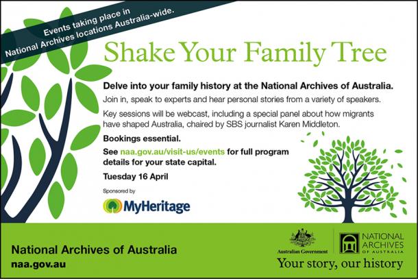 Shake Your Family Tree 2013