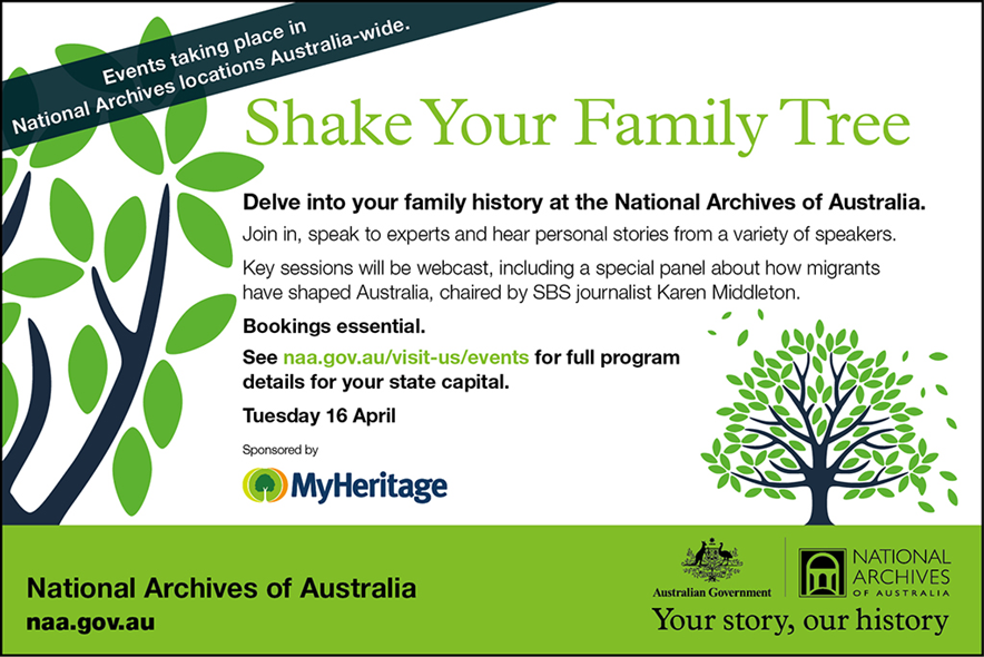 Shake Your Family Tree 2013