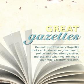 Great gazettes