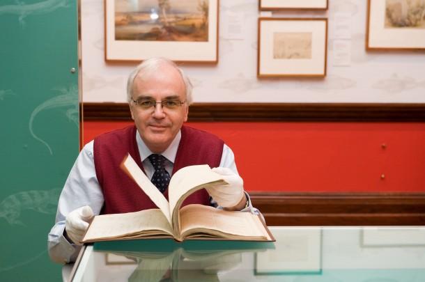 Paul Brunton with Journal