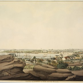 East view of Sydney, ca 1809