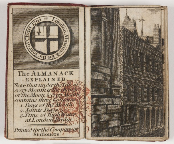 London Almanack for the Year of Christ 1792.