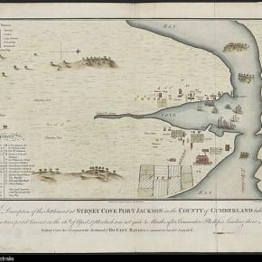Sydney Cove Port Jackson