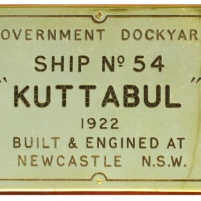 Kuttabul's makers plate