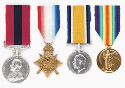 ANZAC hero's medals