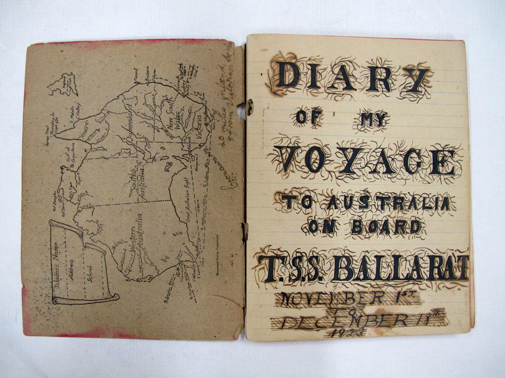 Bill Gladwell's diary c.1923