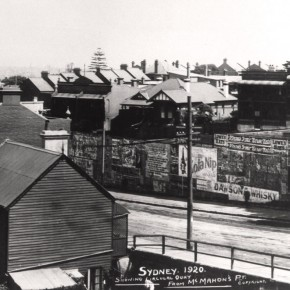 Blues Point Road, 1920