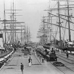 Port Melbourne, c1880