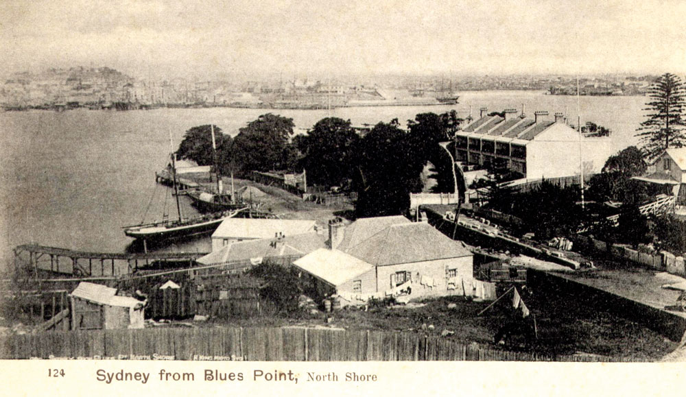 Waterfront postcard, 1890s