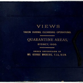Quarantine Area, Sydney, 1900