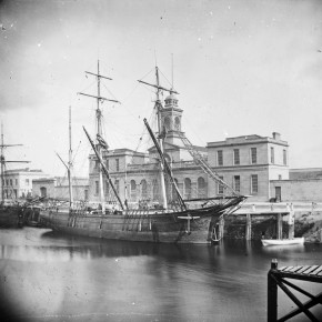 Vessel in Cork City c1875