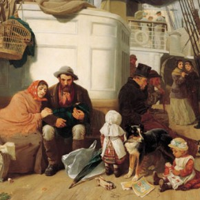 The immigrants' ship 1884