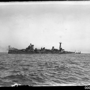 The day HMAS Australia sunk