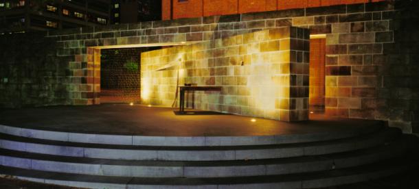 Irish Famine Memorial at Hyde Park Barracks Sydney