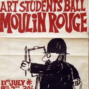 Martin Sharp 1962 Poster