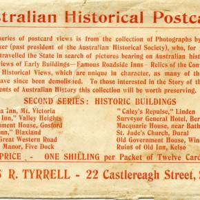 Australian Historical Postcards