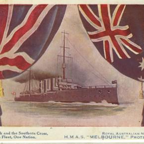 HMAS Melbourne 1913