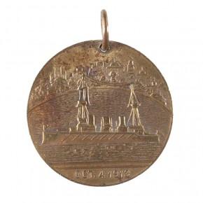 Commemorative Bronze medalet