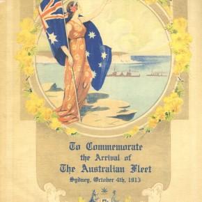 1913 souvenir program