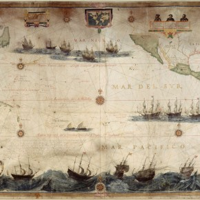 Map of the Pacific Ocean, 1622