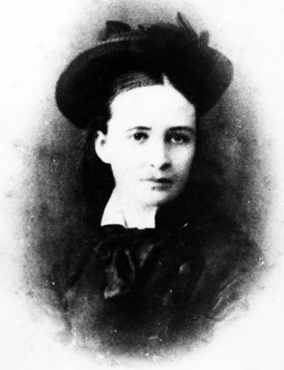 Grace Bussell in 1876. Courtesy of State Library of Western Australia.