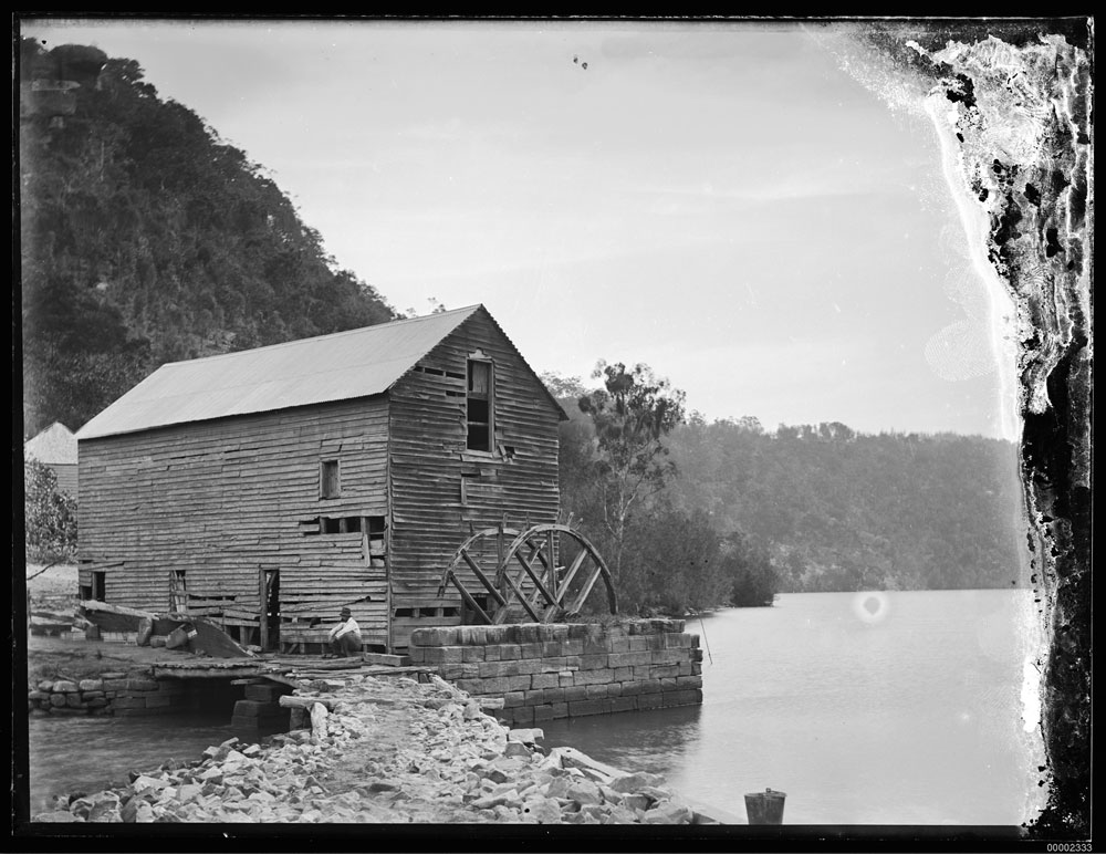 Singletons Mill by William Hall c. 1900