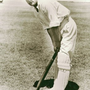 Young Don Bradman at the SCG, 1927-28. Courtesy Bradman Museum Trust Collection Bowral.