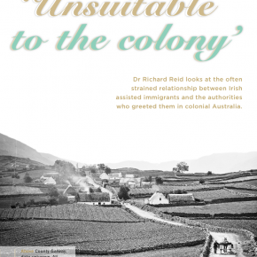 'Unsuitable to the colony'