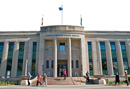 The National Film & Sound Archive site in Canberra houses more than 1.7 million records.