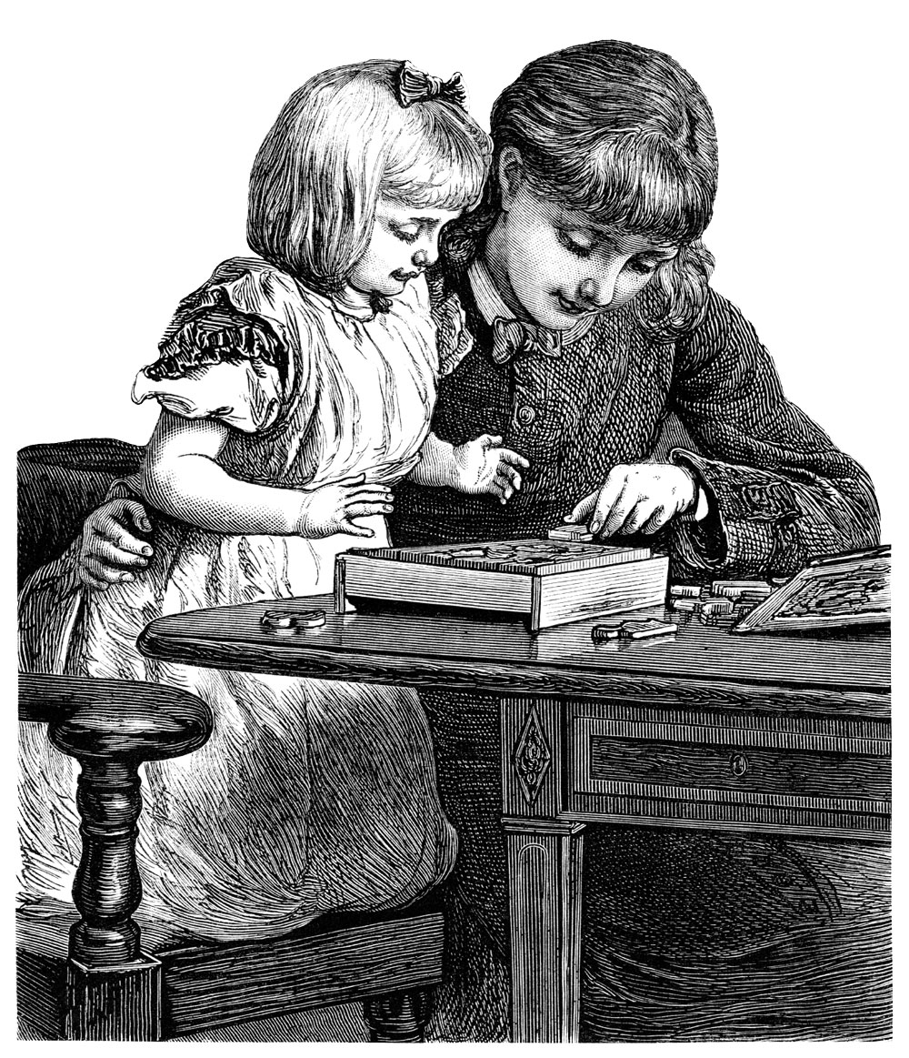 Governess and child