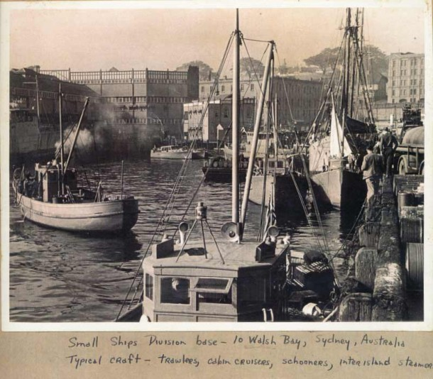The ragtag fleet at its home at Pier 10 Walsh Bay in Sydney. Click on the image for more on the exhibition.