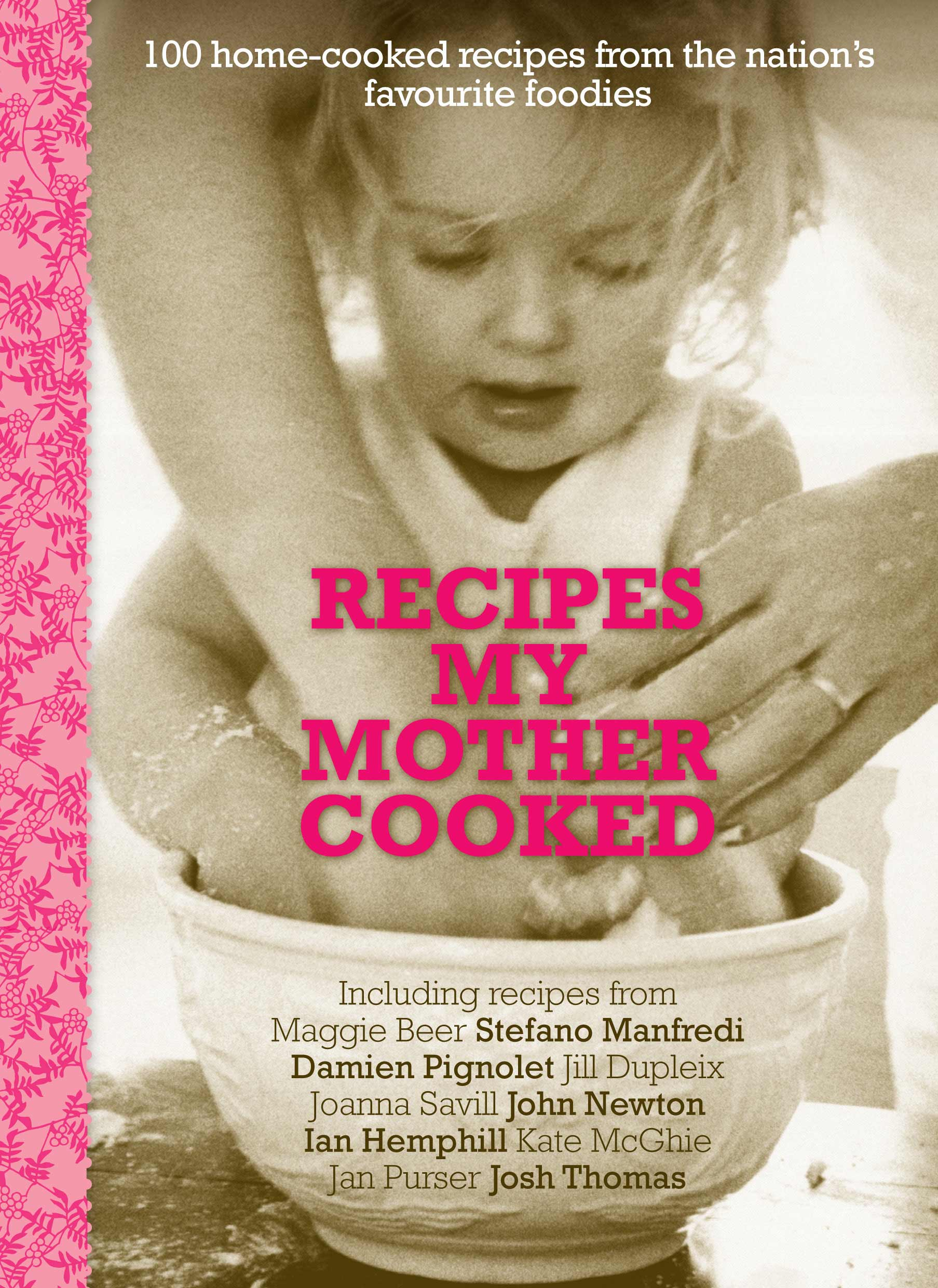 Recipes My Mother Cooked. Click on the cover for more information.