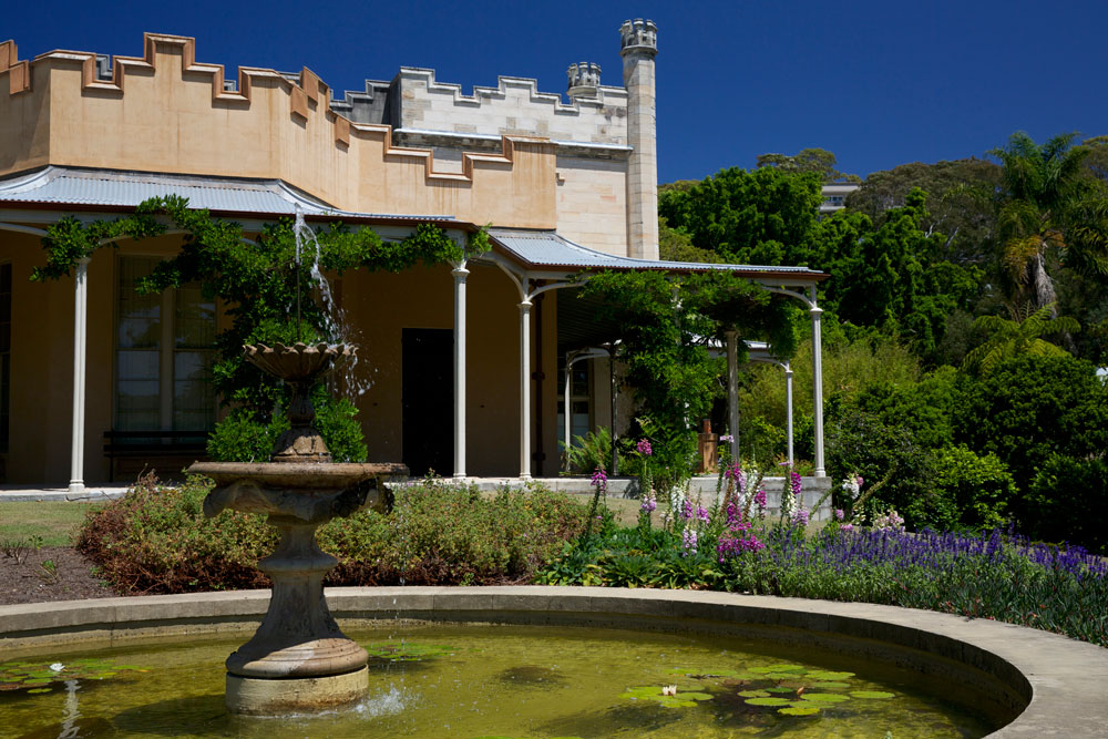 Present-day Vaucluse House dates back to 1828