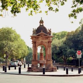 Frazer fountain, St Mary's Road