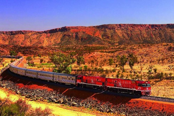 The Ghan has been traversing the heart of Australia for more than eighty years. Click for more information.