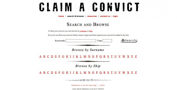 Claim a Convict