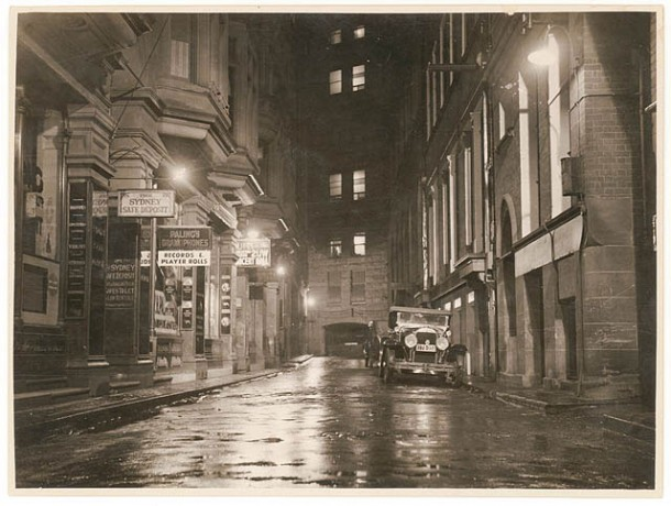 Angel Place, Sydney, c.1935. Courtesy State Library of NSW.