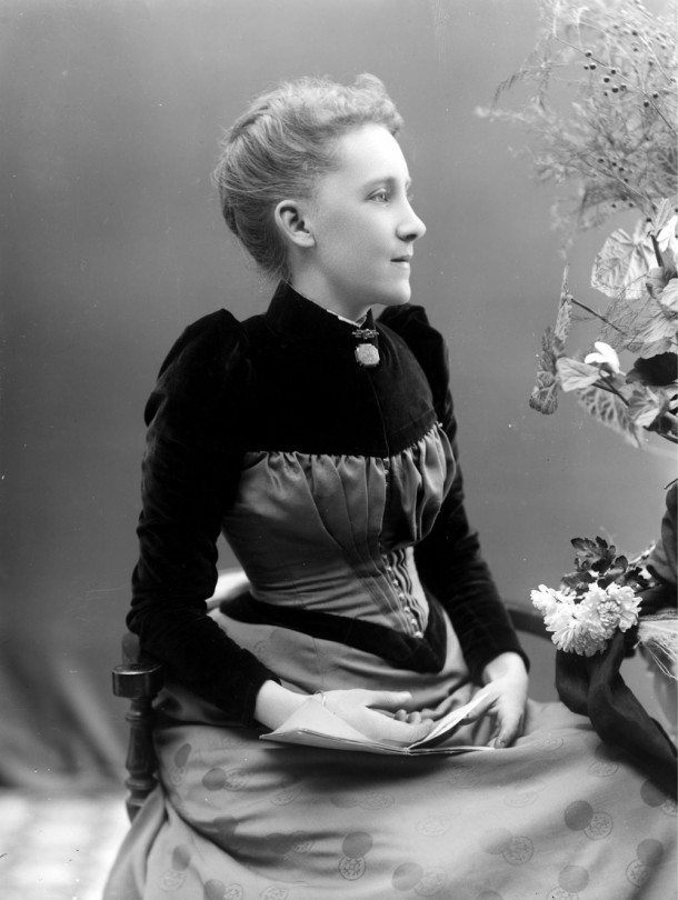 Emma Verey, photographed by her husband. Courtesy Verey Collection.