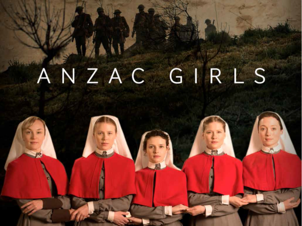 Anzac Girls on ABC TV