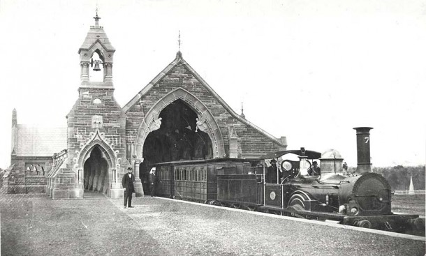 Rookwood Mortuary Railway Station c.1865. Courtesy of State Records NSW
