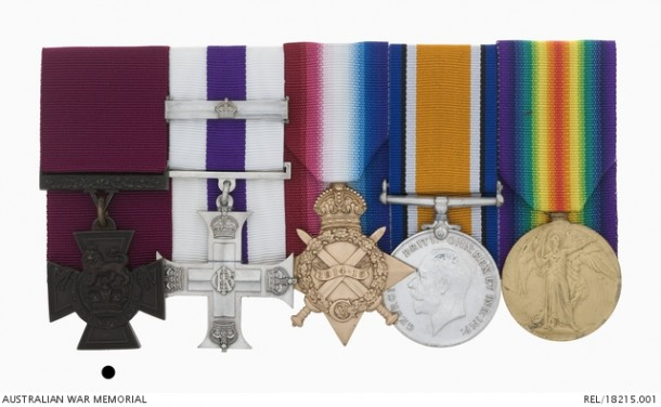 Click on the image to zoom in on the medals and read more.
