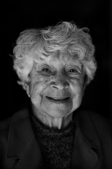 Aunty Joyce Williams. Portrait by Asher Milgate.