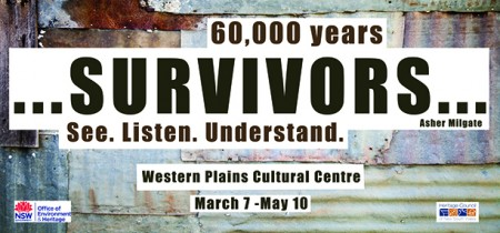 Survivor exhibition is on until the 10th of May