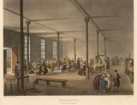 The workhouse of St James's Parish, London, in 1809. Courtesy Mary Evans Picture Library, ID 10008788.