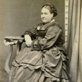 Elizabeth Fenwick. This portrait was taken in Bendigo in the 1860s. Courtesy Allen  & Unwin.