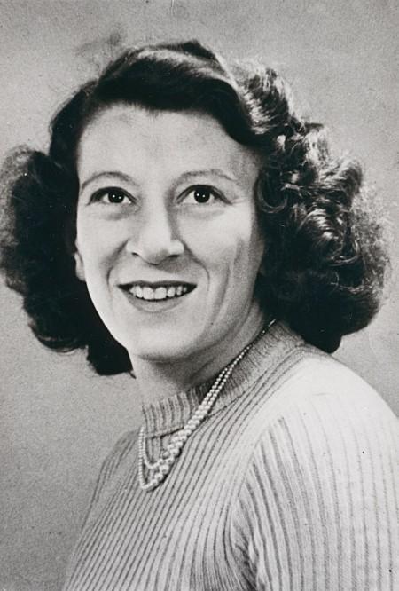 Pat Peters, Bob's mother, c.1948. Courtesy Bob Peters.