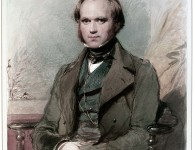 The young Charles Darwin in a portrait by George Richmond, 1840.
